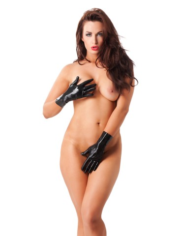 Guanti corti in latex - Rimba