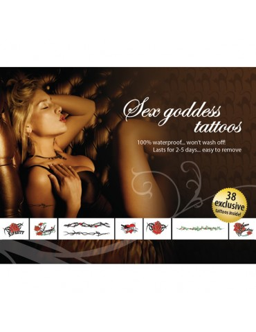 Tatuaggi temporanei Tattoo Set - Sex Goddes