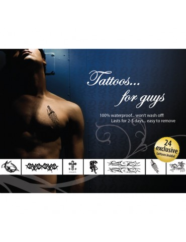 Tatuaggi temporanei Tattoo Set - For Guys
