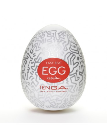 Masturbatore uovo Keith Haring Egg Party  - Tenga