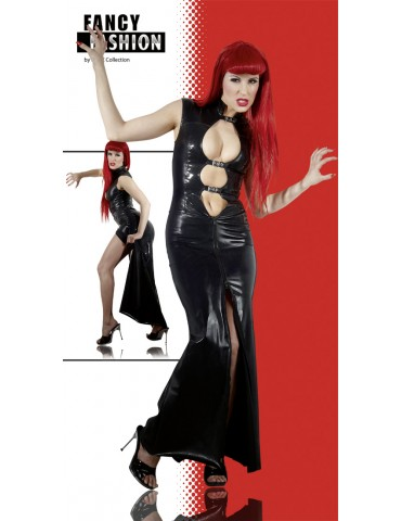 Vestito lungo in latex Fancy Fashion