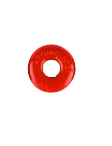 Cock Rings Do-Nut 2 Red - Atomic Jock (Oxballs)