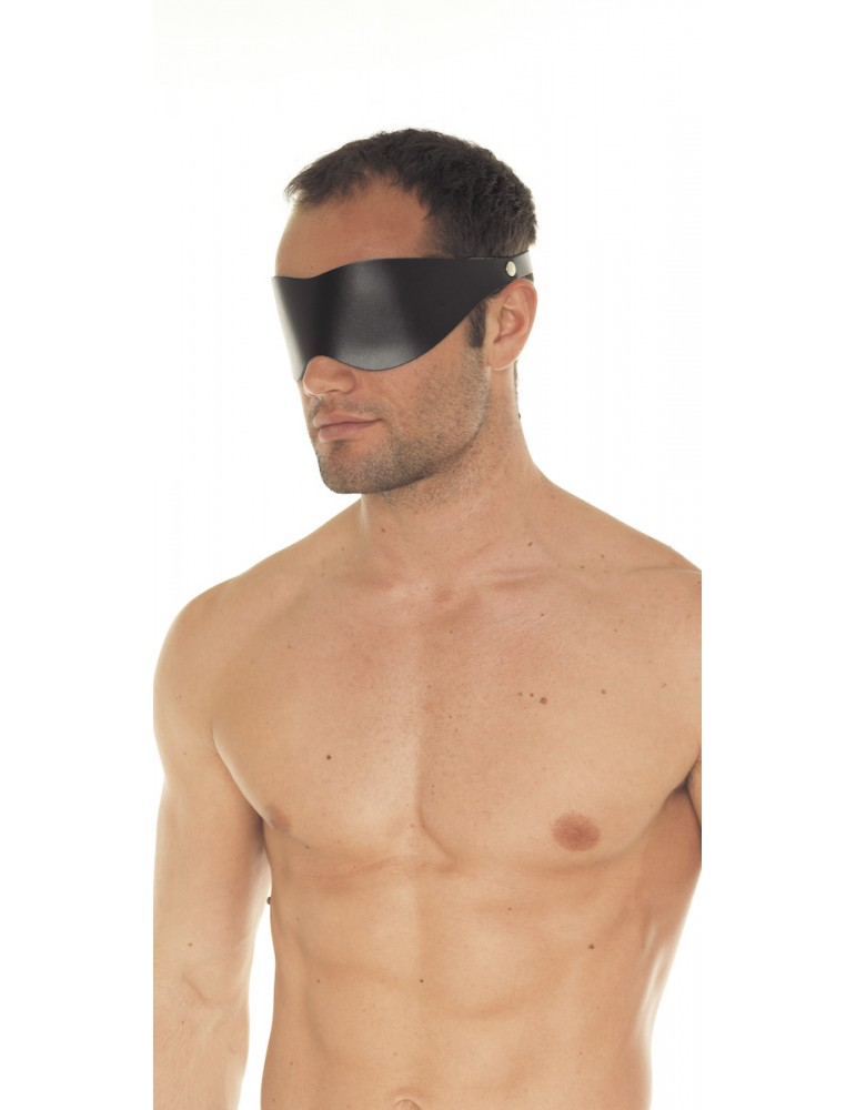 Mascherina copri occhi - Leather Blindfold
