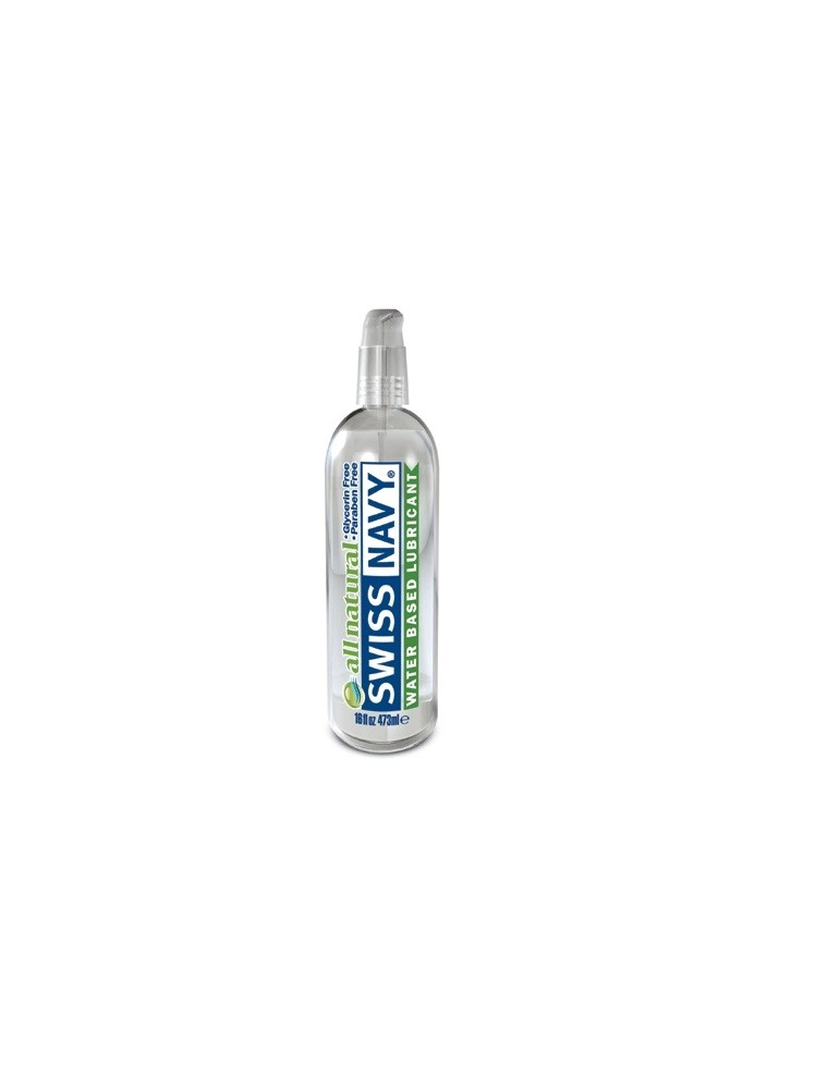 Lubrificante a base d'acqua - Swiss Navy All Natural