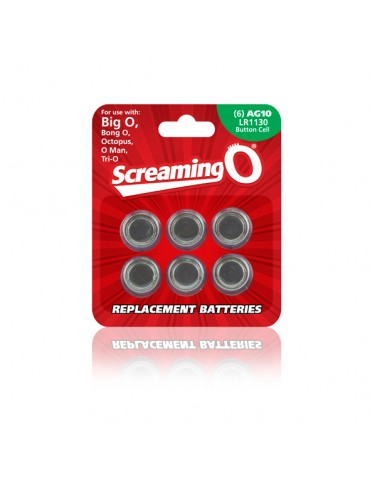 Batterie Size AG-10 - The Screaming O