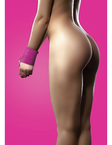 Corda in silicone Rope - Rosa - OUCH