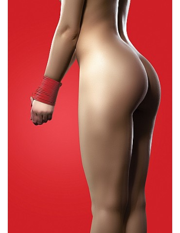 Corda in silicone Rope - Rosso - OUCH