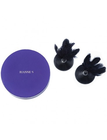 Copricapezzoli Rianne S - Pasties Birds Black