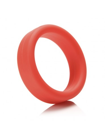 Anello fallico Tantus - Super Soft C-Ring Red