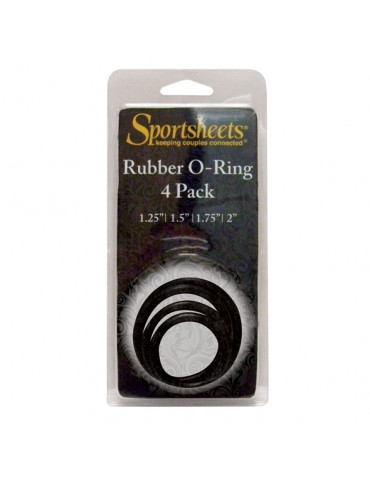 4 anelli Cock ring per Strap On - Sportsheets