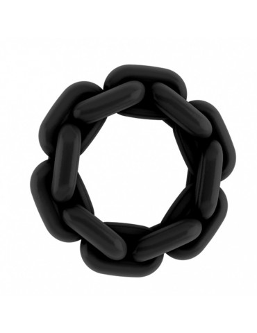 Anello a forma di catena No.4-5-6 - Sono - Black