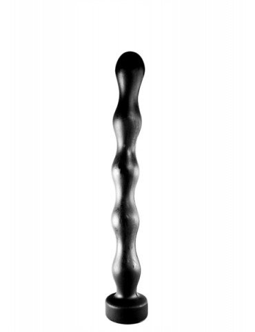 Plug anale / Dildo in PVC 32 cm - All Black