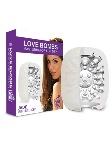 Guaina masturbante Bombs Jade Love in the Pocket