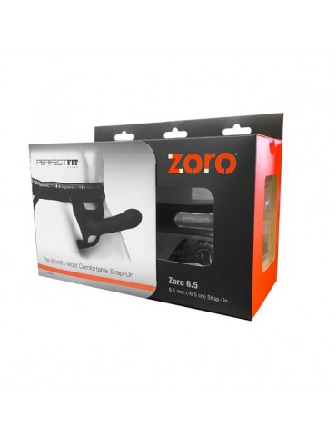 Imbracatura Strap-On - Nero - Perfect Fit - Zoro 16,5 cm