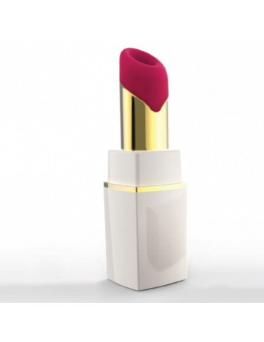 Stimolatore clitorideo rosetto Womanizer - 2Go Lipstick White