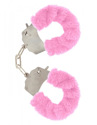 Soffici manette Furry Fun TOYJOY - Rosa