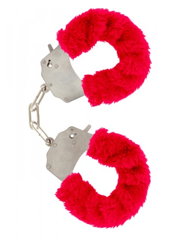 Soffici manette Furry Fun TOYJOY - Rosso