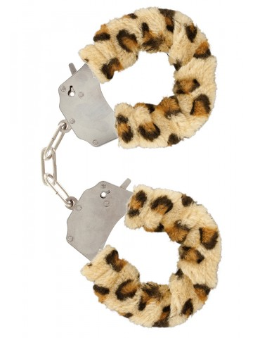 Soffici manette Furry Fun TOYJOY - Leopardo