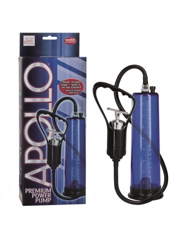 Pompa per pene Apollo Premium Power - Blu