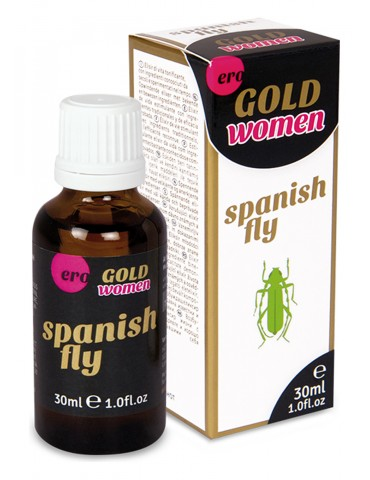 Stimolante potente in gocce Spanish Fly Gold per Donna