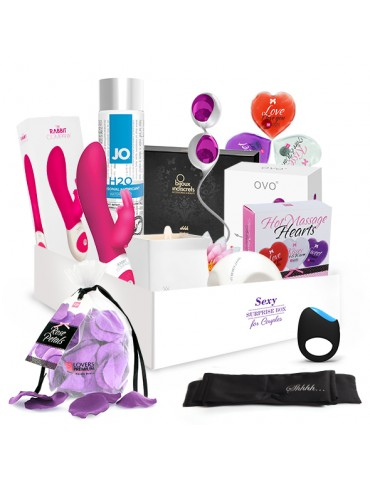 Sexy regalo con numerosi toys Surprise Sex Box - For Couples