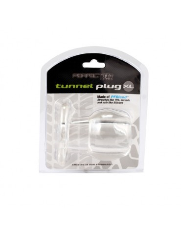 But Plug in silicone trasparente - Ass Tunnel Extra Large - Perfect Fit