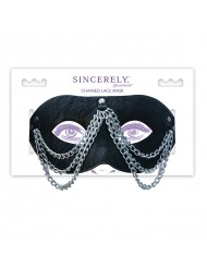 Mascherina sexy con catenelle Sportsheets - Sincerely Chained