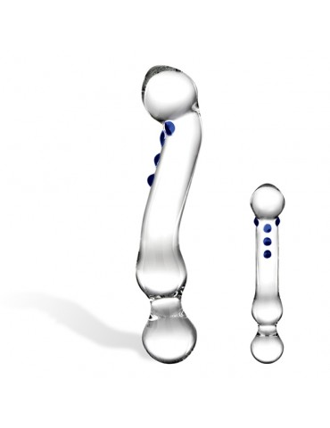 Fallo in vetro ricurvo Glas - Curved G-Spot Glass Dildo