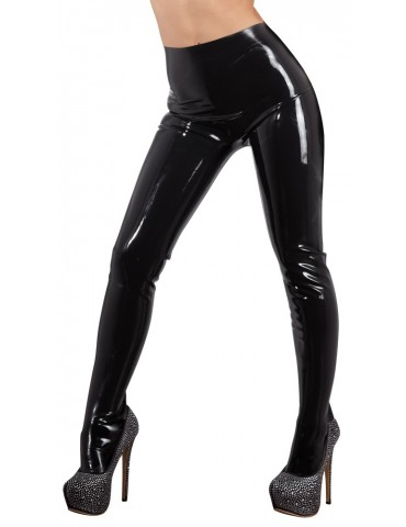 Leggings in latex con piede preformato Strumpfhose - Late X