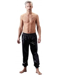 Pantaloni larghi in lattice - Tracksuit Trousers - Late X
