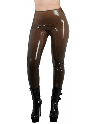 Collant in latex fumo trasparente Tights - Late X