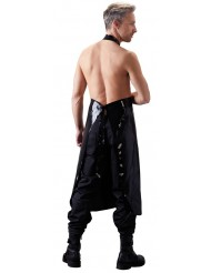 Grembiule per Uomo in Latex nero - Apron - Late X