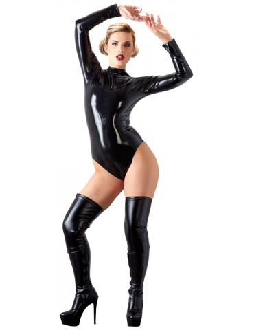 Body in latex con due zip - Late X