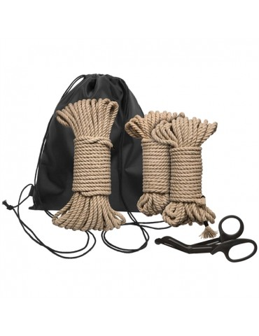 Corde BDSM Shibari Bind & Tie Initiation Kit - 5 Pezzi - Rope