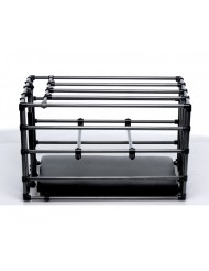 Gabbia per tortura Kennel Adjustable Puppy Cage Padded Board - MASTER SERIES