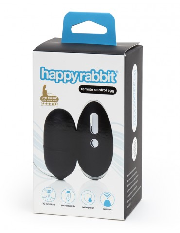 Ovetto vaginale telecomandato Happy Rabbit Remote Control Egg
