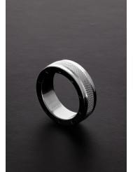 Anello fallico zigrinato COOL and KNURL C-Ring - Triune