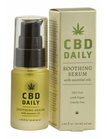 Olio lenitivo CBD Daily Soothing Serum - 20 ml EARTHLY BODY (ALL)
