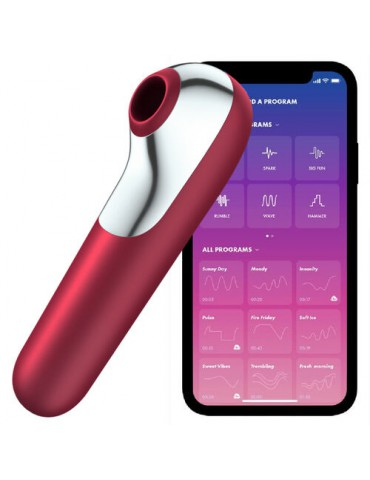 Satisfyer Dual Love Red / incl. Bluetooth and App