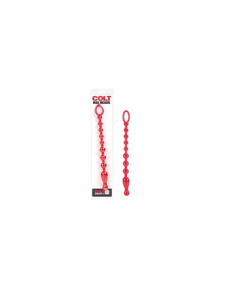Catena anale - Colt Max Beads - Red