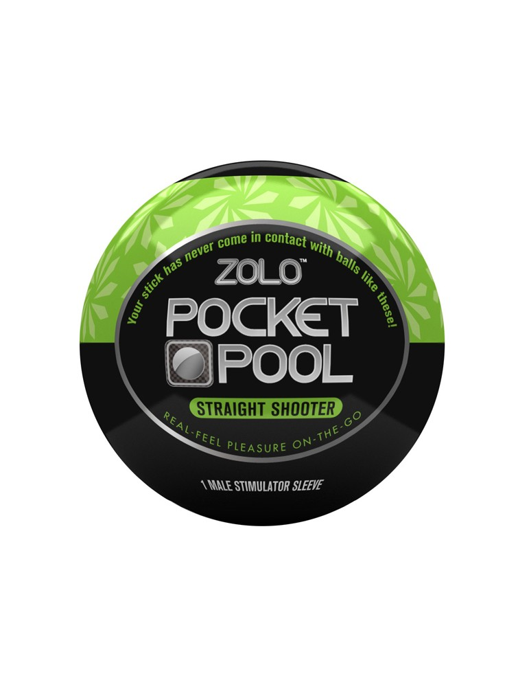 Mini masturbatore Zolo - Pocket Pool Straight Shooter