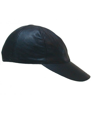 Cappellino in pelle da baseball Mr-B