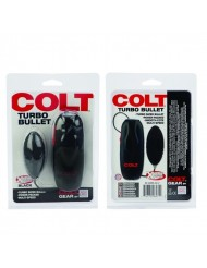 Stimolatore anale - Colt Turbo Bullet - Black